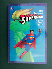 SUPERMAN the greatest stories ever told DC 1987