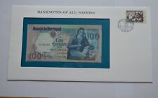 More details for 1980 portugal 100 escudos uncirculated note  banknotes all nations