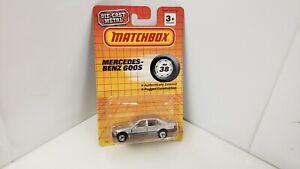 MATCHBOX 1994 MB38 MERCEDES BENZ 600S TWO TONE SILVER 1738 TYCO TOYS, KIDSTOYZ®