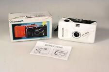 PREMIUM PC-606 WHITE 35MM FOCUS-FREE CAMERA IN BOX