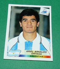 N°511 ORTEGA ARGENTINE ARGENTINA PANINI FOOTBALL FRANCE 98 1998 COUPE MONDE WM
