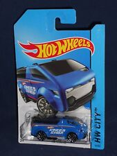 Hot Wheels 2014 New Models HW City City Works #10 The Vanster Blue