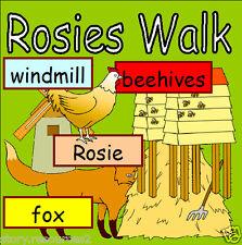 ROSIE'S ROSIES WALK  Farm  Primary teaching resource KS1 EYFS Resources on CD