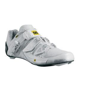 Mavic Ladies Xena Carbon Road Shoes US size 10.5 EU 43 1/3 White New