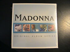 Madonna ORIGINAL ALBUM SERIES / European Import 5xCD Box Set / STILL SEALED