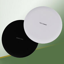 10W Rubberised Wireless Quick Charging Fast Charger Pad QI Charging Mobile Phone