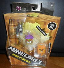 Minecraft 3 Pack Spooky Series 9 Cyborg Donkey Village Watcher & Ghast O'Lantern