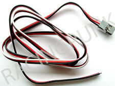 900mm 90cm RC Receiver micro standard Servo Lead Wire FUTABA Connector male Plug