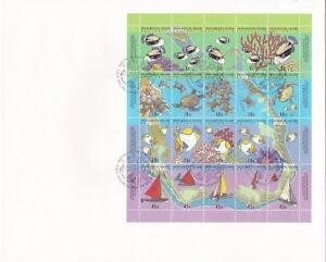 CK1) 1994 Cocos Keeling Islands Sheetlet, bearing 5c - 45c