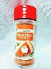 Pumpkin Pie Spice Stonemill Gourmet 1.35 oz Freshness Sealed Jar Free PDQ Ship