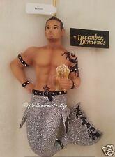December Diamonds Tattoo Merman Ornament 2012, Nib, New in Collectible Gift Box