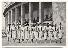 WWII GERMAN Large 1936 OLYMPIC Sports Photo Image- Hungarian Women Athletes