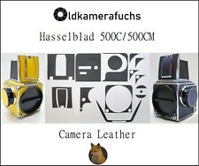 Hasselblad 500 C / 500 CM Belederung / Camera Leather / Kameraleder / Cover Set