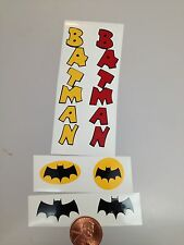 Batman Decals For The Revell Reissue Kits. Die Cut