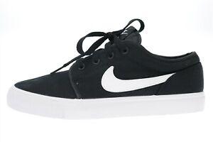 Mens NIKE black canvas fashion sneakers Shoes Size 7 (40) $110