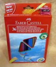 36 PASTELLI TRIANGOLARI ECOLOGICI FABER-CASTELL  cod.12852