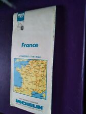 Carte de france n989 michelin