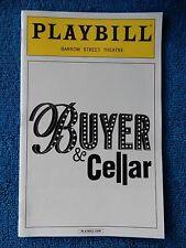 Buyer & Cellar - Barrow Street Theatre Playbill - November 2013 - Michael Urie