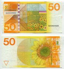50 Gulden Niederlande 4.1.1982  Erhaltung III+, P. 96