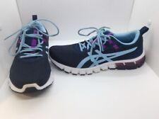 Asics Womens Gel Quantum 90 Blue Running Training Athletic Shoes Sz 10 ZC-258