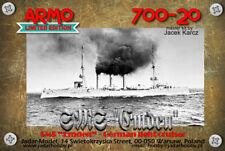Armo 700-20 1/700 SMS EMDEN - German Light Cruiser