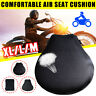 Riding Motorcycle Seat Non-slip Inflatable Cushion Cover Mesh Air Pad  boom!