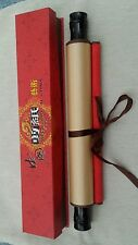 Chinese wall scroll in decorative box.