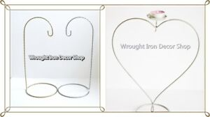 Christmas Bauble Stand Display Hanger Ornament Stand Holder Heart Shape Light