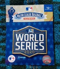 Official 2020 MLB World Series Patch Los Angeles Dodgers vs Tampa Bay Rays