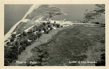 RPPC Postcard Morris Point Lake Of the Woods MN
