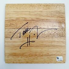 Tommy Heinsohn - Signed FLOORBOARD Floor Boston Celtics Autograph Global GAI 🍀