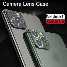 For iPhone 11 Pro Max XR XS X Metal Camera Lens Full Cover Back Film Protector