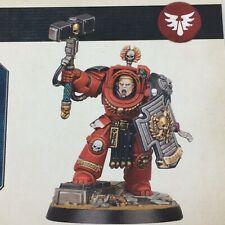 Warhammer 40K Space Marine Adventures Blood Angel Terminator Hammer Sergeant