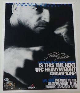 Bas Rutten Signed 16x20 Photo Beckett COA UFC 18 1999 Poster Picture Autograph