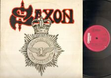 """SAXON Strong Arm Of The Law 12"""" Ps, B/W Taking Your Chances, Car 170t (Vg/Ex, Sl"""