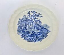"Vintage Taylor Smith & Taylor Blue Castle 6"" Plate"