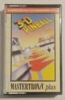 3D Pinball - Mastertronic - Commodore 64 (C64, C128) - TESTED - See pics