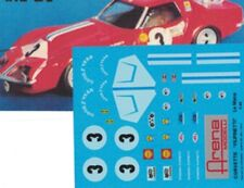 decal 1/43 CHEVROLET CORVETTE SCUDERIA FILIPINETTI 24h LE MANS 1968 Arena D020
