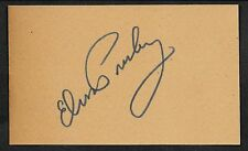 Elvis Presley Autograph Reprint On Original Period 1950s 3x5 Card