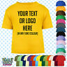 Custom Personalised Baby/Kids/Childrens T-SHIRT Name Funny Gift-Your text/logo 4