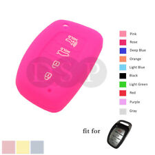 Silicone Skin Case Cover fit for HYUNDAI Elantra Tucson Remote Smart Key 4112RS
