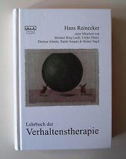 Lehrbuch der Verhaltenstherapie von Hans Reinecker