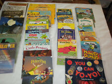 LOT OF 34  CHILDREN'S SOFTCOVER BOOKS