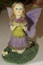 1998 The Fairy Collection Dezine Flower-Girl Fairy #5834 w/Coa