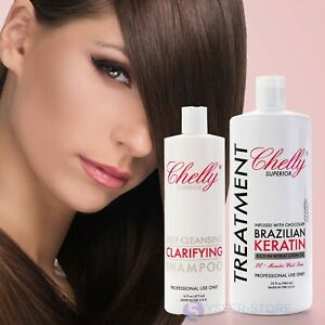 Chelly Superior Brazilian Keratin Treatment infused w/ chocolate