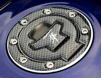 Suzuki HAYABUSA Carbon-Look Fuel / Gas Cap Cover Tank Pad GSX1300R Busa