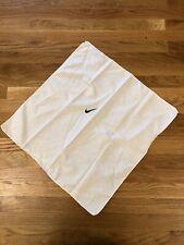 Nike Swoosh Adult Unisex Bandana/Headband, White/Black Tennis Workout Running