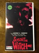 Season Of The Witch Vista Video VHS George A. Romero Hungry Wives Night Dead