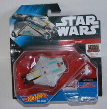 Hot Wheels Die Cast Star Wars Rebels Ghost Ship Includes Flight Navigator/Stand