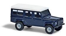Busch 8372 , Land Rover Defender» Azul «, ESCALA N Modelo a escala 1:160